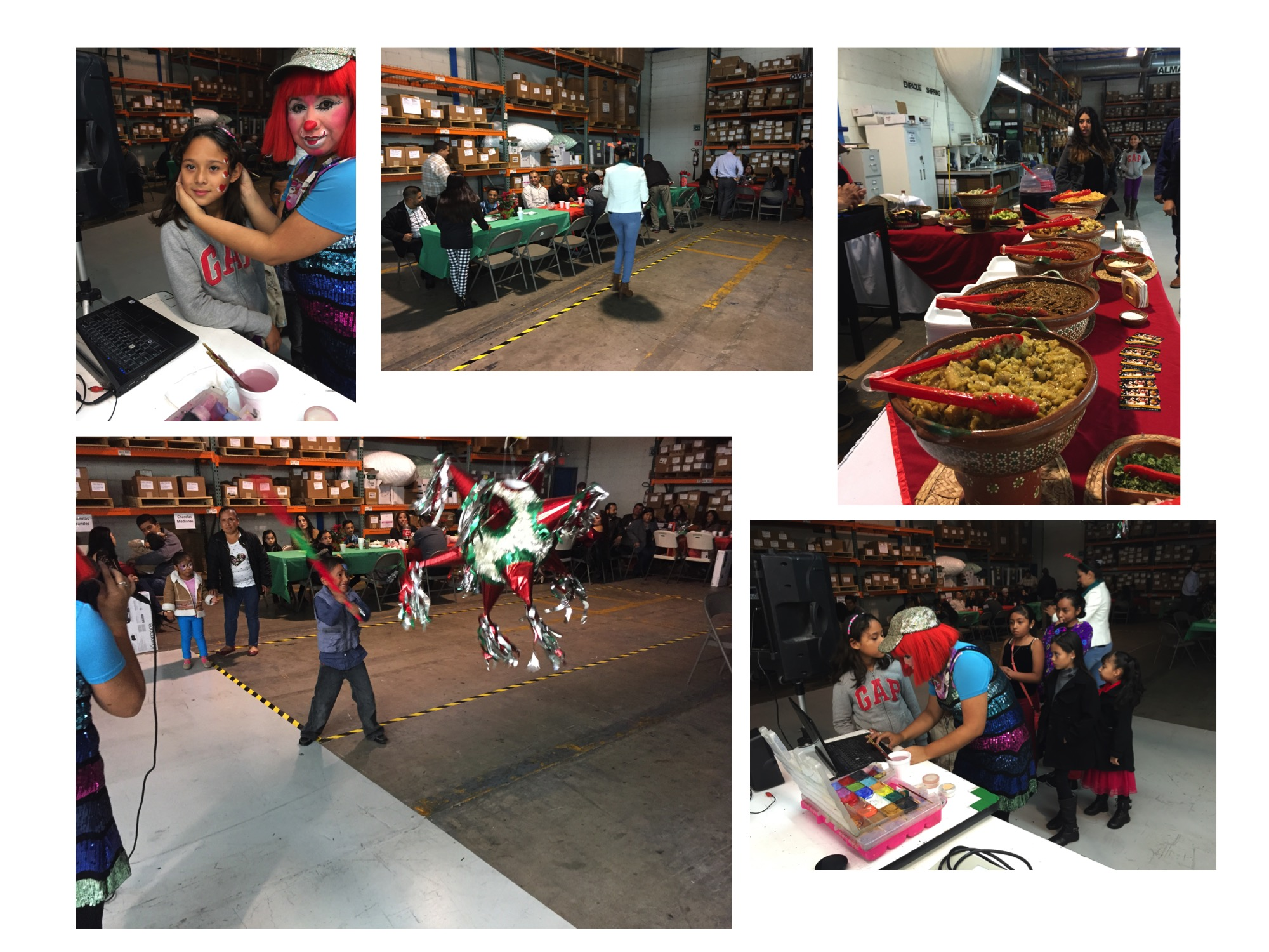 Christmas Party at Steven Label Mexico