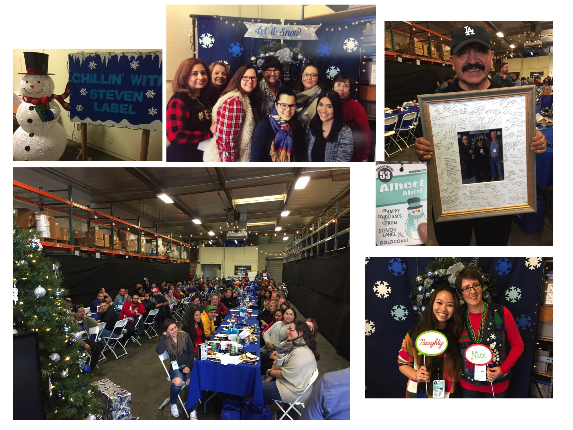 Steven Label / Gold Coast shares a Holiday meal together